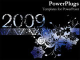 PowerPoint Template - 2009 winter style.