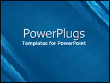 PowerPoint Template - abstract blue diagonal