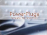 PowerPoint Template - Metallic grays and rivets