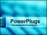 PowerPoint Template - Computer keyboard