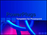 PowerPoint Template - Linking rings in a chain