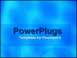 PowerPoint Template - Allusion to technology and computers
