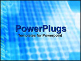 PowerPoint Template - Power cell from solar panel