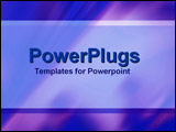 PowerPoint Template - Tints and shades of blue