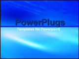 PowerPoint Template - Soft and hard contrasting sections of blue