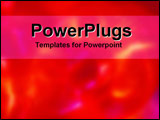 PowerPoint Template - Red Lights