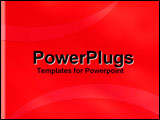 PowerPoint Template - Simply Red