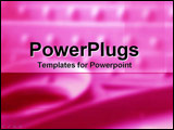 PowerPoint Template - Pink Industry