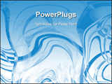 PowerPoint Template - Blue Abstract