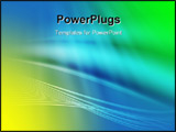 PowerPoint Template - Beautiful abstract background with light effects and amazing colors
