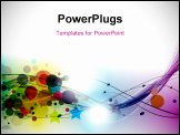 PowerPoint Template - Abstract colorful background