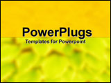 PowerPoint Template - Viral Attack on Yellow