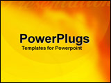 PowerPoint Template - Allusion of power and energy