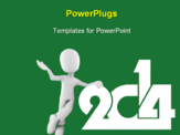PowerPoint Template - New goals for 2014