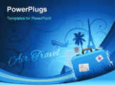 PowerPoint Template - Travel concept