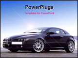 PowerPoint Template - alfa romeo sports version 2007