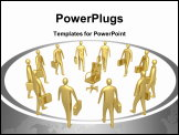 PowerPoint Template - Computer generated image - All For One Position.
