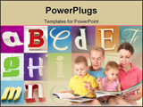 PowerPoint Template - learn the alphabet with the street