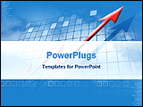 PowerPoint Template - image showing financial growth