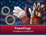 PowerPoint Template - symbols for american work force