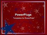 PowerPoint Template - Illustration for making papers and scrapbooking items or other crafts happy independence day