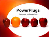 PowerPoint Template - Apples and oranges