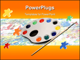 PowerPoint Template - Painting setup