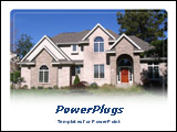 PowerPoint Template - Ideal for real estate prices, houses, construction presentations.
