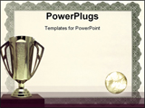 PowerPoint Template - Trophy