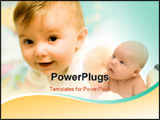 PowerPoint Template - baby **soft focus