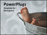 PowerPoint Template - A baby