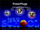 PowerPoint Template - Back to school