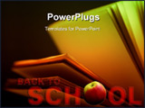 PowerPoint Template - Back to School background