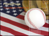 PowerPoint Template - american baseball