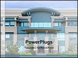PowerPoint Template - big building