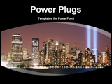 PowerPoint Template - buildings in a city