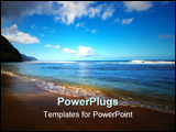 PowerPoint Template - Kee beach, Kauai, Hawaii on Kauai Hawaii.
