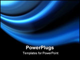 PowerPoint Template - Blue modern power and energy background style