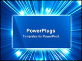 PowerPoint Template - Abstract background from a frame lines and light