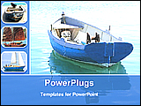 PowerPoint Template - verity of boats