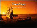 PowerPoint Template - an old ship early in the morning