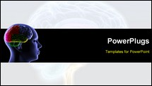 PowerPoint Template - Brain