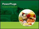 PowerPoint Template - A healthy breakfast