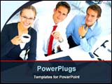 PowerPoint Template - a light business discussion