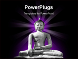 PowerPoint Template - The statue Of Buddha