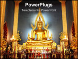 PowerPoint Template - The Buddha image it