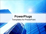 PowerPoint Template - Corporate buildings