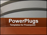 PowerPoint Template - Textured Curves