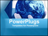 PowerPoint Template - World in Your Hands