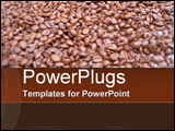 PowerPoint Template - Coffee Beans